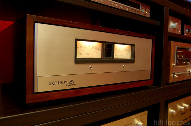 PIONEER EXLUSIVE M-3 Power Amplifier