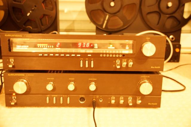 Grundig T3000 mit RB1 und 5 Strichen