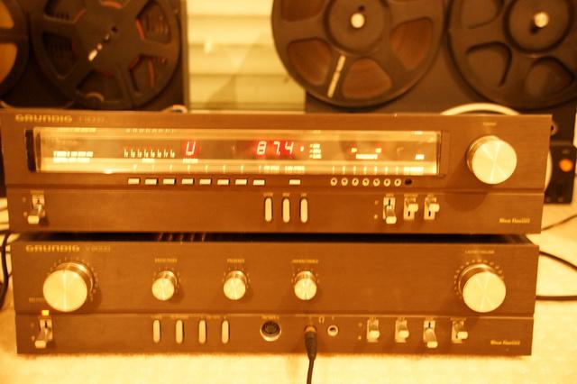 Grundig T3000 Mit Sender Auf 87.4 Und 0 Striche