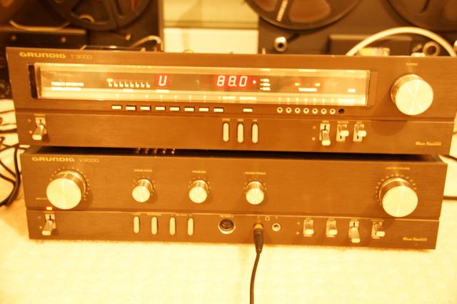 Grundig T3000 Mit Sender Auf 88.0 Und 1 Strich