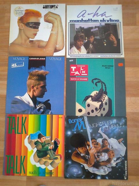 Schallplatten Vom 30 7 007