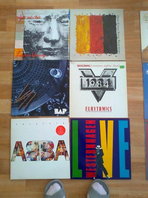 Schallplatten Vom 30 7 008