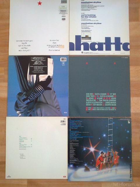 Schallplatten Vom 30 7 009