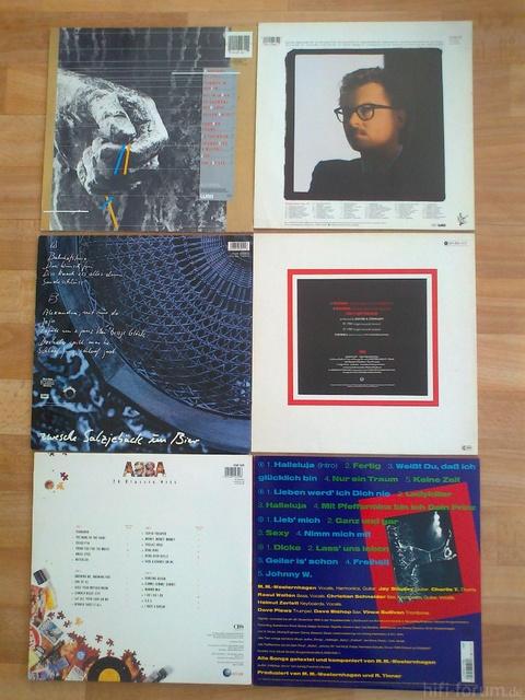 Schallplatten Vom 30 7 011