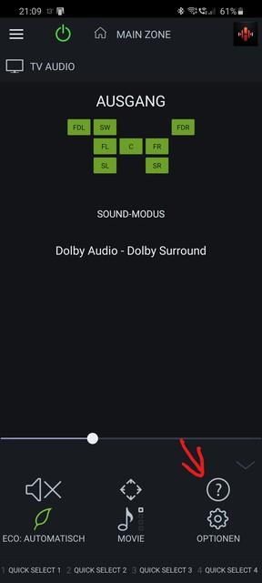 Screenshot 20200415 210945 Denon 2016 AVR Remote 1