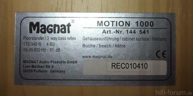 Magnat Motion 1000