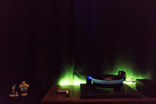 Plattenspieler-Beleuchtung