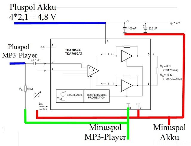 Schaltplan Minilautsprecher 02