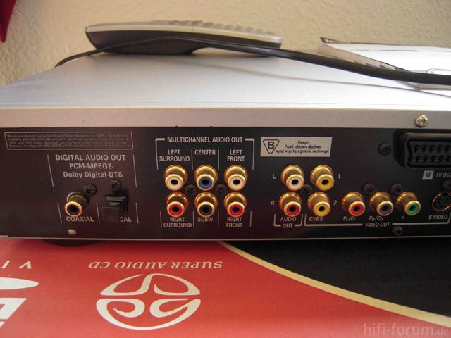 Philips SA 763 Back 1