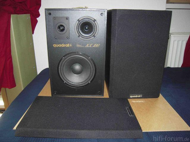 Quadral KX 100 II Front