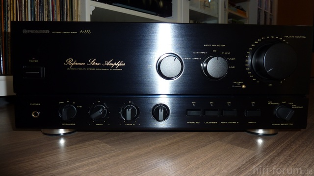 Pioneer A 858 Front