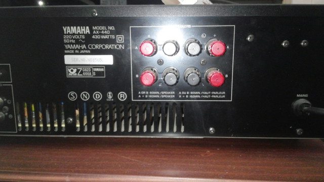 Yamaha AX-440 techn. Daten
