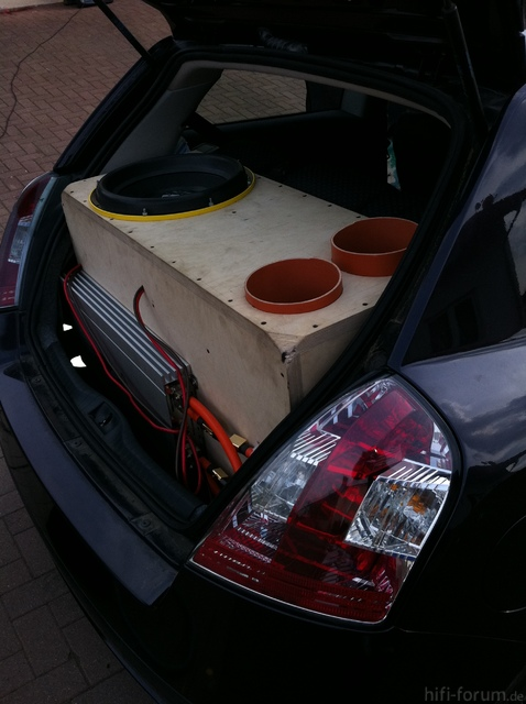 280 Liter Außenvolumen im Fiat Stilo