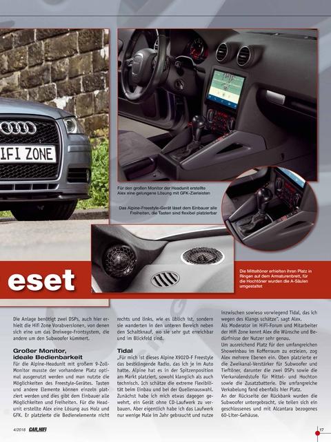 Audi A3 8p Bericht Car&Hifi