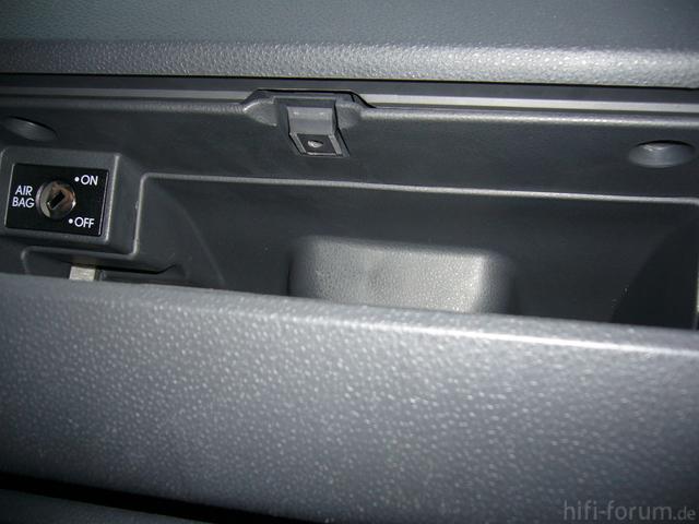 Ausbau Handschuhfach Polo 9n