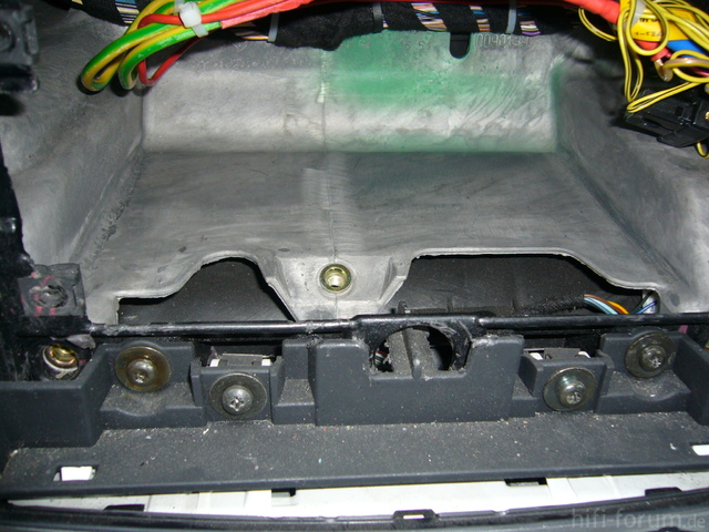 Dämmung Radioschacht Fiat Stilo