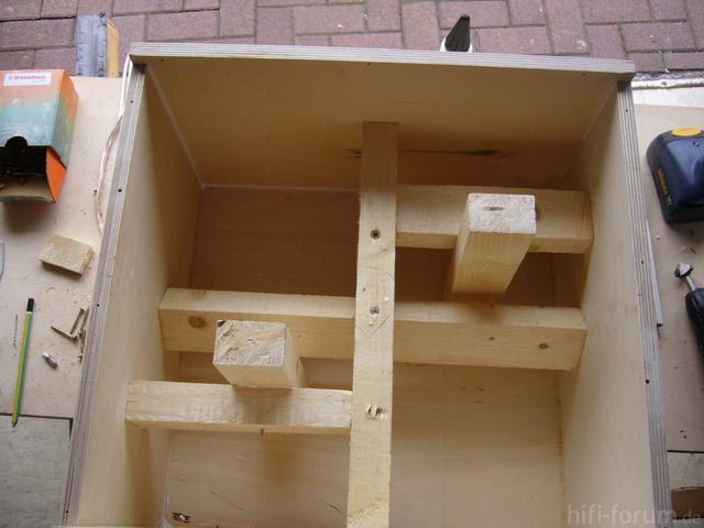 Neugestaltung Kofferraum