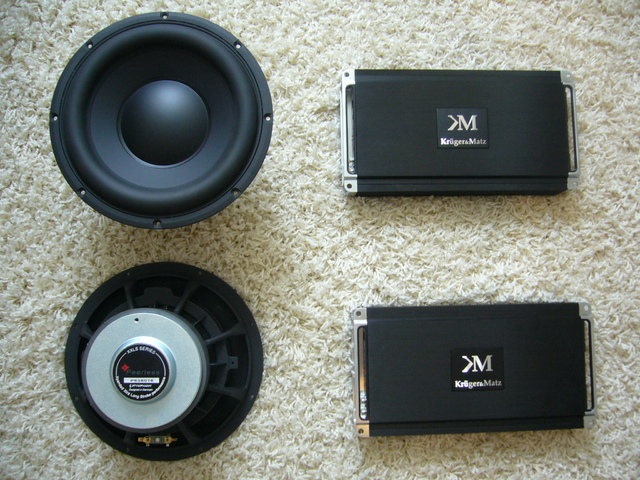 PeerlessXXLS10 & K&M 1001