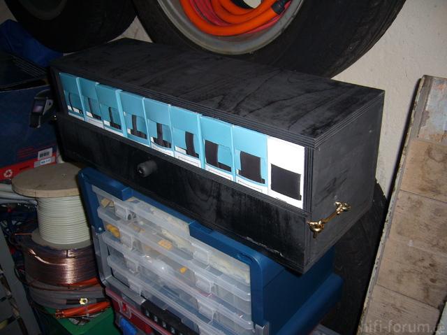Schrumpfschlauchaufbewahrungsbox
