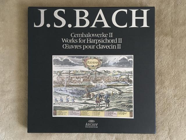 J. S. Bach: Cembalowerke II (Box 11 - DGG ARCHIV)