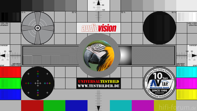 Audiovision Universaltestbild