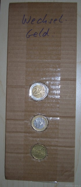 Wechselgeld