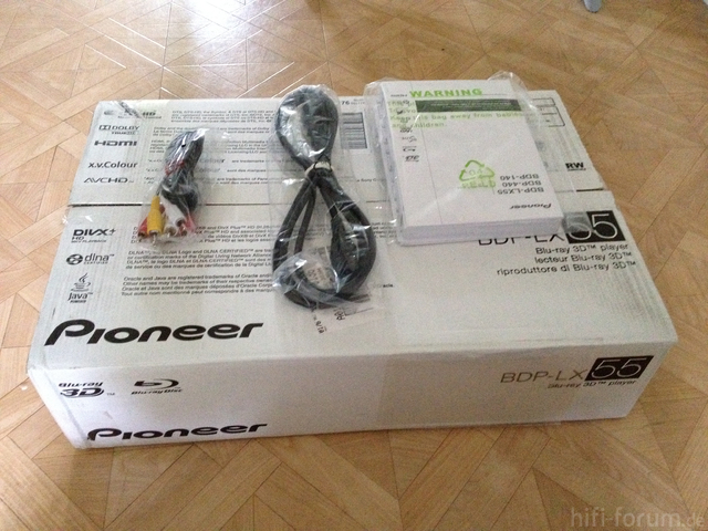 2 Pioneer LX55 Zubehör