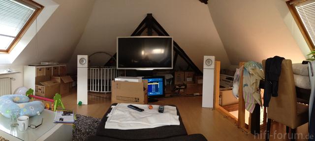 wohnzimmer mit dachschr gen wohin mit der anlage akustik hifi forum. Black Bedroom Furniture Sets. Home Design Ideas