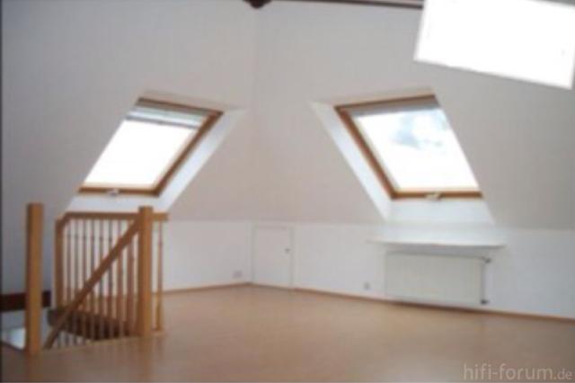 Wohnzimmer mit Dachschrägen - wohin mit der Anlage?, Akustik ...