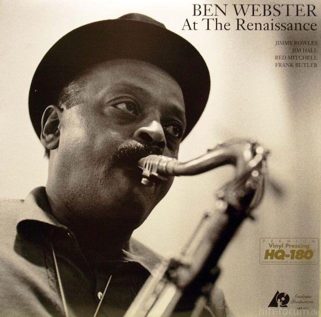 Ben Webster At The Renaissance