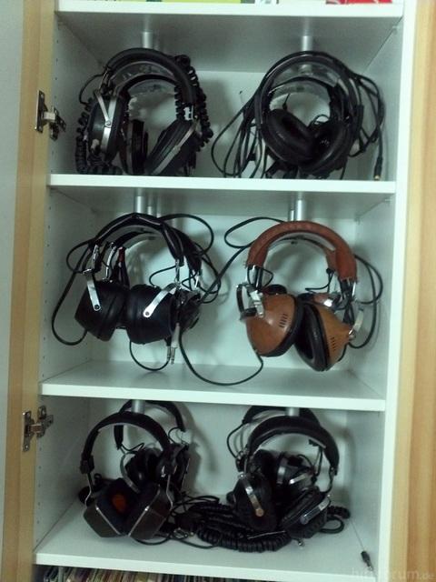 Sammlung Quadrophoniekopfhörer