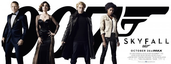 Skyfall Movie Banner 600x225