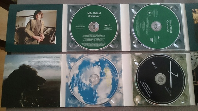 Mike Oldfield 2010er Edt.
