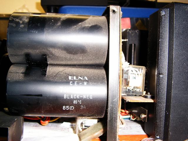 Kenwood L-07 Netzteil Elkos