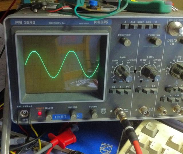 Sinus 10 kHz