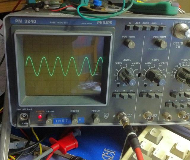 Sinus 100 kHz