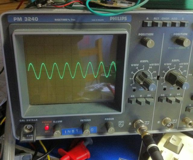 Sinus 150 kHz