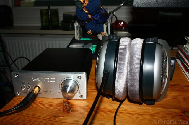 Aune Mini USB DAC MK2 SE + Beyerdynamic DT 880