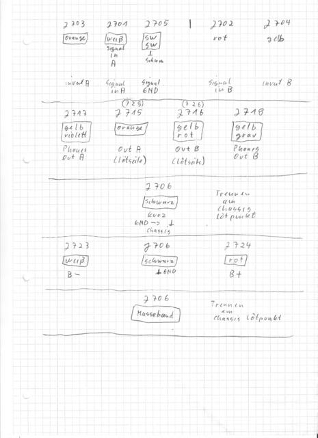 MARANTZ 4240 Endstufe Kabel 02