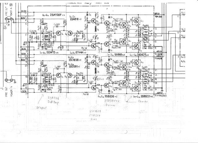 PIONEER SX-950 PowerAmp