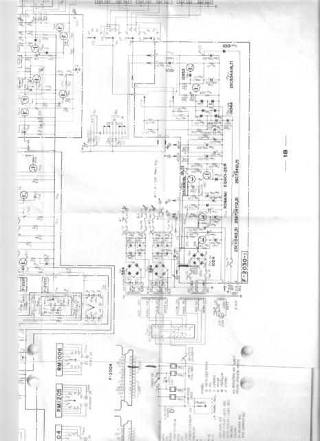 SANSUI AU 9500 Netzteil 01