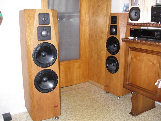 standboxen acr in eiche lautsprecher hifi forum. Black Bedroom Furniture Sets. Home Design Ideas