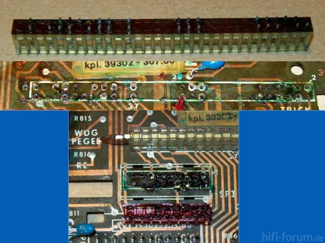 Grundig TS 925 Schalter