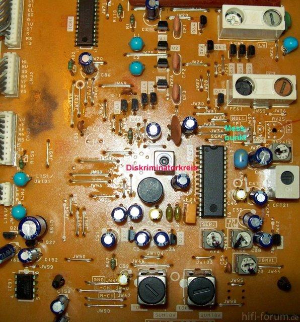 Tunerplatine Sony ST-S211