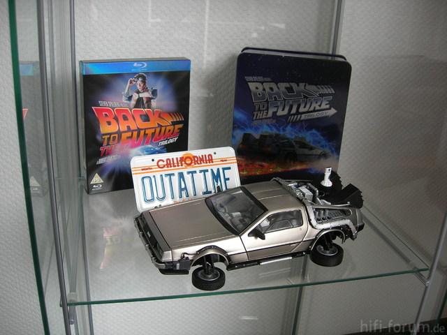 Back To The Future UK Tin Box