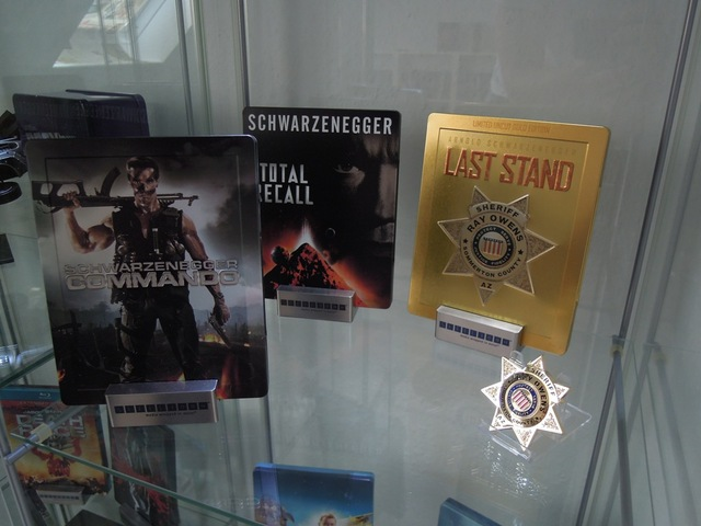 Commando, The Last Stand Steelbook