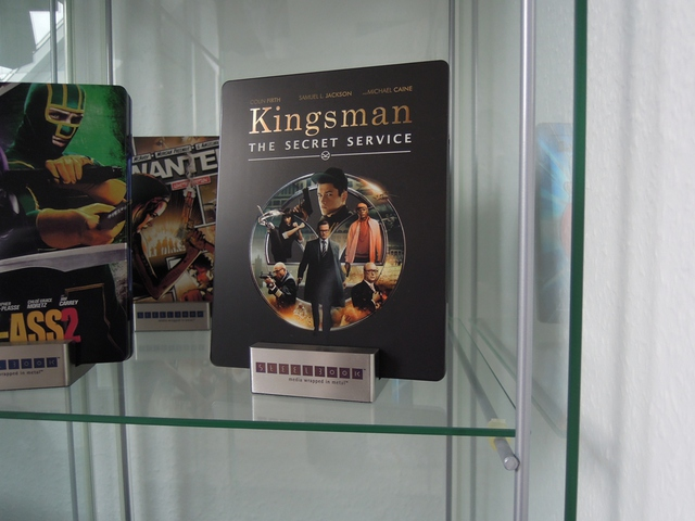 Kingsman Steelbook