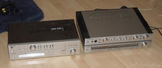 Grundig SV 2000 + ST 2000 und Telefunken RA 100 + RT 100