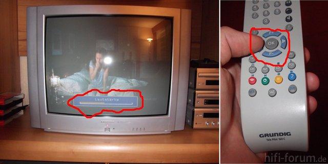 CRT Fernseher