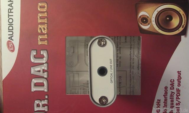 ESI Audiotrack Dr. DAC nano (4/4)